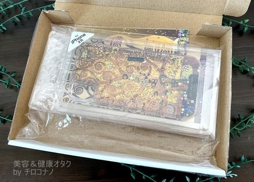 クリムト グリッターケース iPhoneケース 口コミ.JPG