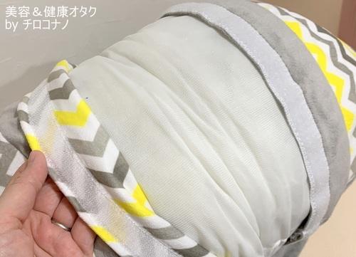 ハガブー カバーを洗える 簡単 ハガブー メリット 口コミ.JPG